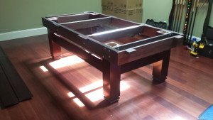 Correctly performing pool table installations, Harrisonburg Virginia